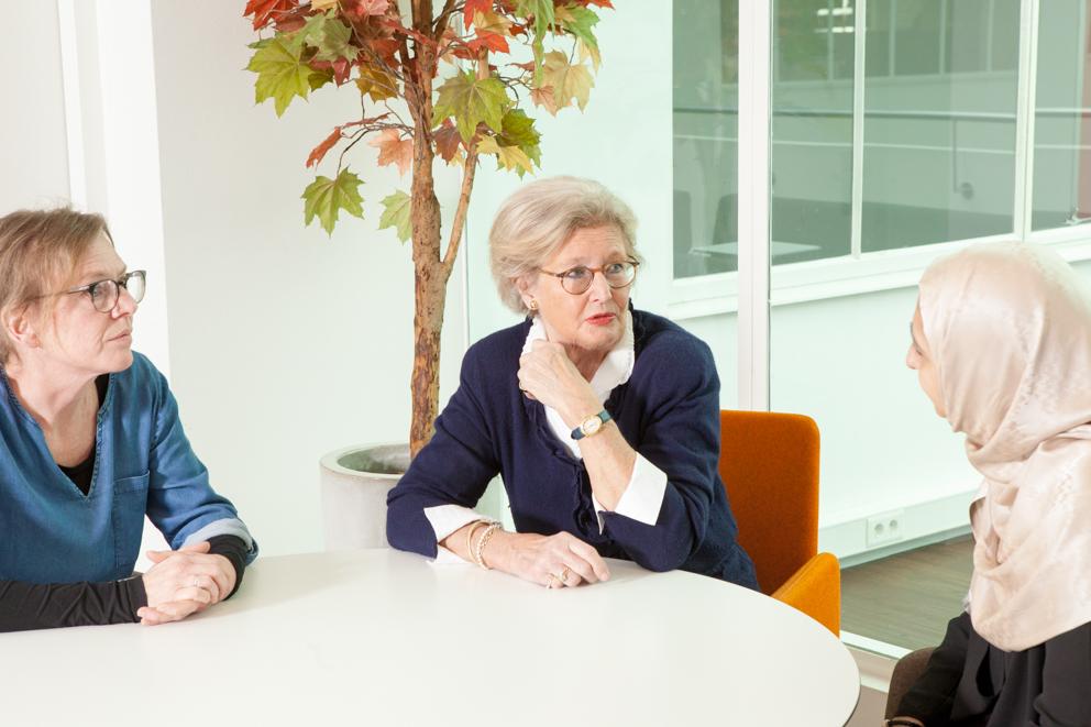 In gesprek met coaches bij Vrouwen in de Lift
